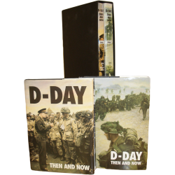 D-DAY THEN AND NOW PRESENTATION BOXED SET